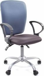 CHAIRMAN Кресло офисное 9801 сиденье серое, спинка голубая