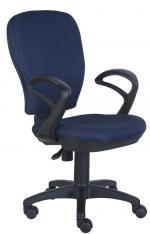Кресло оператора Бюрократ CH-513AXN/#BLUE темно-синий JP-15-5